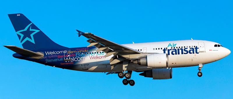 Air Transat Airbus A310-304
