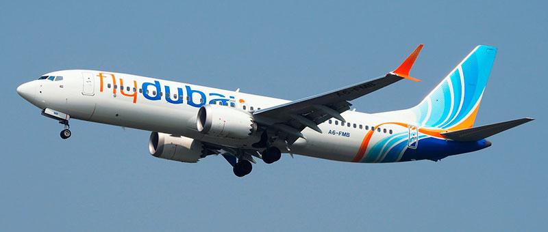 Boeing 737-8 MAX flydubai