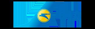 Логотип авиакомпании Международные авиалинии Украины