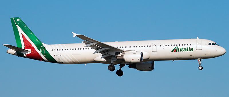 Alitalia Airbus A321-100