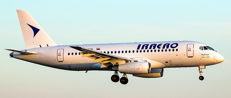 Iraero Sukhoi Superjet 100-95
