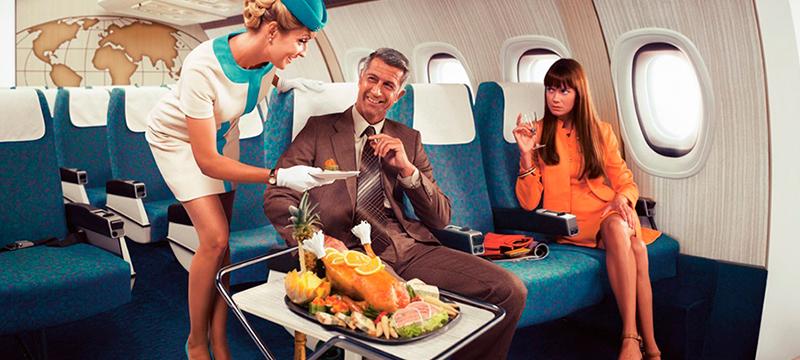 Какую еду выбирают авиапассажиры?