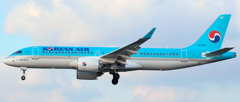Korean Airbus A220-300