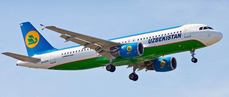 Uzbekistan Airways Airbus A320-200