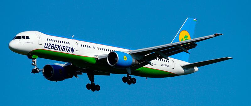 Uzbekistan Airways Boeing 757-200