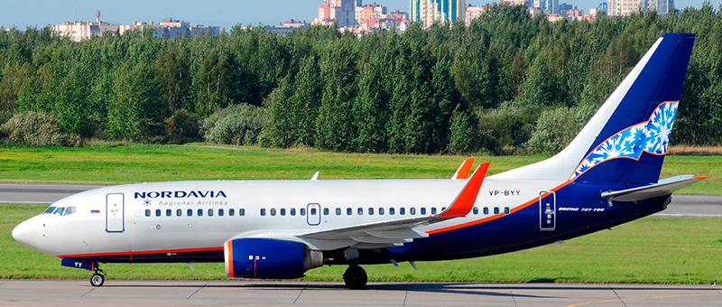 Nordavia Boeing 737-700