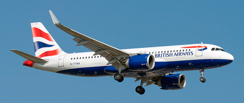 British Airways Airbus A320neo