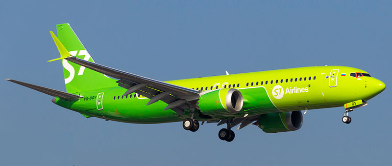 S7 Airlines Boeing 737-8 MAX
