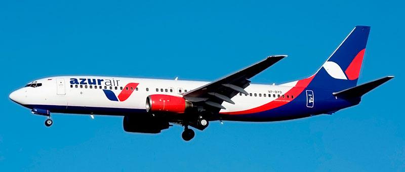 Azur air Boeing 737-800