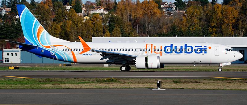 flydubai Boeing 737-9 Max